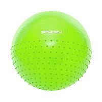 Гимнастический мяч для спорта 65 см, фитбол, мяч для фитнеса Spokey HALF FIT