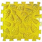 Ортопедический коврик пазл - Шишки (Микс) (1шт), разные цвета, фото 5