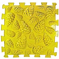 Ортопедический коврик пазл - Шишки (1шт), разные цвета