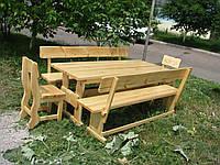 Деревянная мебель для беседок и мангалов в Геническе