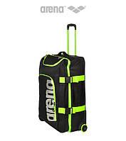 Большая дорожная сумка Arena Fast Cargo (Black/Fluo Yellow)