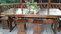 Деревянная мебель для беседок и мангалов в Бердянске