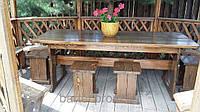 Деревянная мебель для беседок и мангалов в Броварах