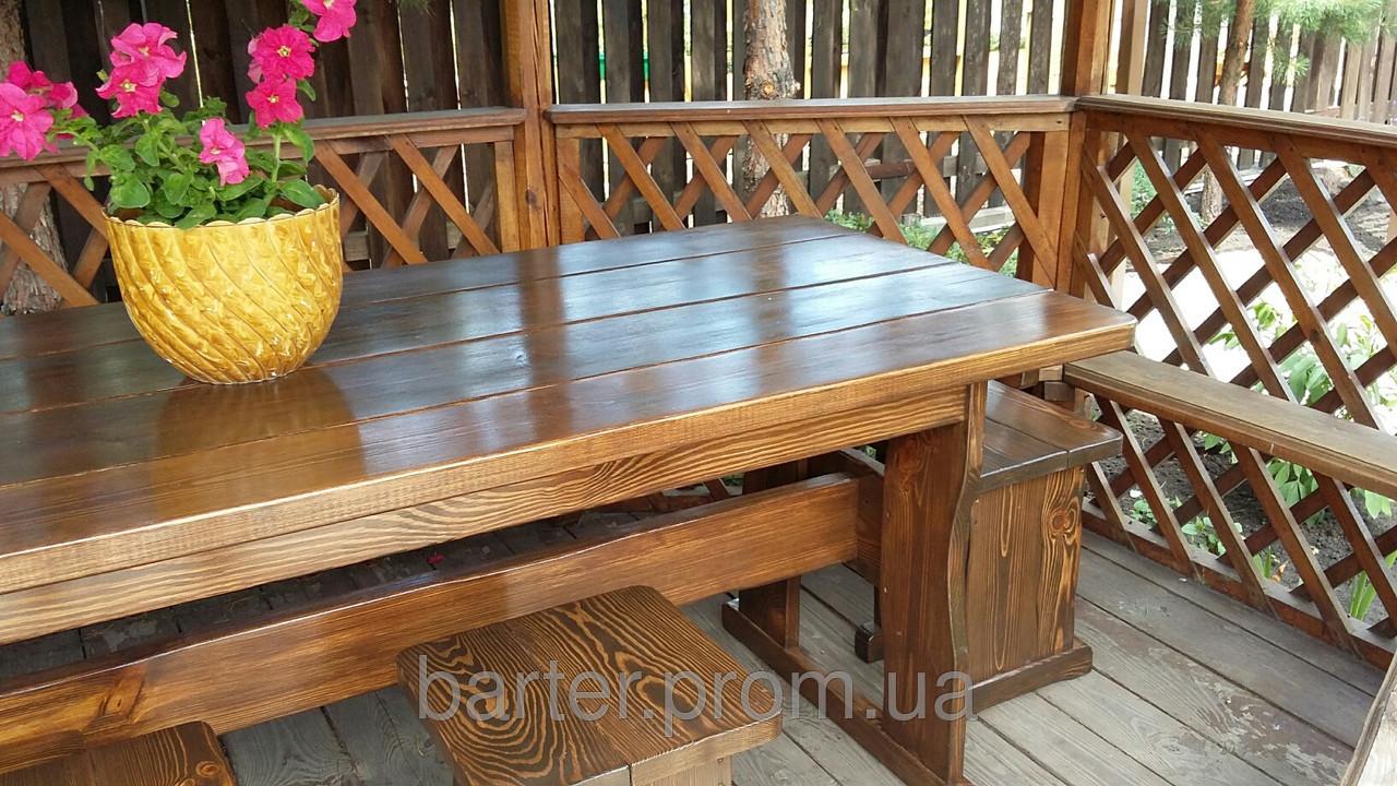 Деревянная мебель для беседок и мангалов в Виннице