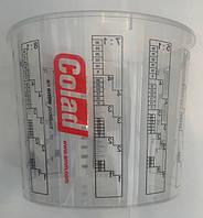 Мерный стакан для смешивания краски, лаков, грунтовок COLAD (БЕЗ КРЫШКИ) 700 мл.