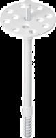 Дюбель для теплоизоляции с пластиковым гвоздем 10/90 мм