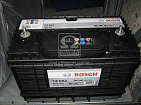 Аккумулятор 105 Ah 12v BOSCH (T3052), (330x172x240), EN 800 А Наложенный платеж, НДС