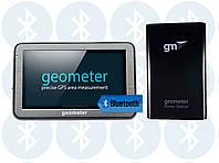 Вимірювач площі полів ГеоМетр S5 new (Bluetooth) + ГеоМетр Power Station