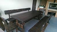 Деревянная мебель для беседок и мангалов в Кременчуге