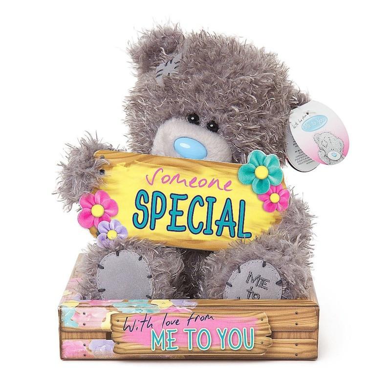 """Ведмедик Teddy MTY з табличкою """"Someone special"""""""