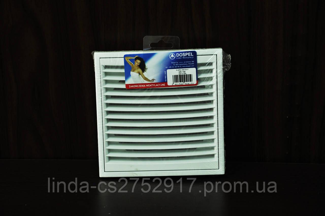 Решетка вентиляционная KR 100\125 Dospel