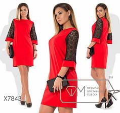 Платья женские больших размеров от ТМ Фабрика Моды