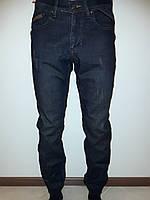 Мужские джинсы на резинке утепленные 4667, фото 1