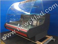 Холодильна кондитерська вітрина MUZA-К-1,25 з вбудованим агрегатом, фото 1