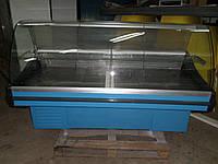 Витрина холодильная Juka 1,90 м. б у, гастрономическая витрина б.у., фото 1
