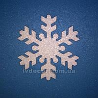 Снежинка из пенопласта SN3 30*0,9 см уценка