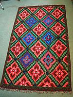 Вовняний килимок ручної роботи 210*120