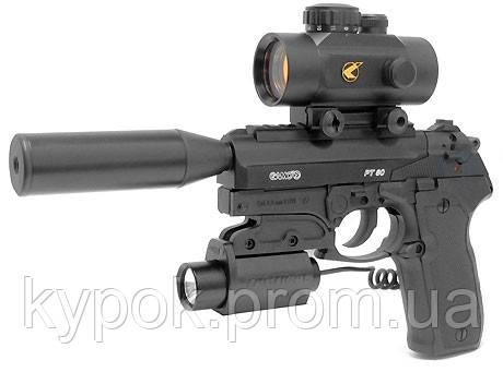 Gamo Пневматический пистолет Gamo PT-80 Tactical