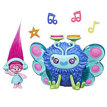Набор тролли Розочка и музыкальный жук DreamWorks Trolls Poppy's Wooferbug Beats Hasbro Оригинал