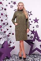 Платье (48-50, 52-54) —ангора купить оптом и в розницу в одессе  7км