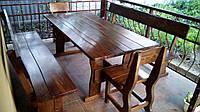 Деревянная мебель для беседок и мангалов в Мелитополе