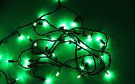 Новогодняя гирлянда уличная 10 м, 100 led, зеленый цвет, фото 1