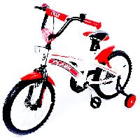 """Детский двухколесный велосипед TILLY FLASH 16"""" (T-21643) Красный"""