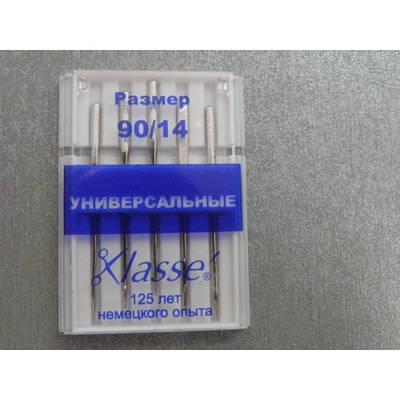"""Набор игл """"Klasse"""" универсальный №90 (5 шт.)"""