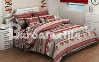 Полуторный  постельный комплект белья из бязи Голд