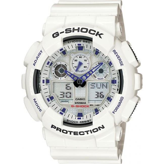 Часы Casio G-Shock GA-100A-7A В.