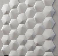 "Пластикова форма для 3d панелей ""Шестигранник №2"" 19 * 17,5 x5 (форма для 3д панелей з абс пластика)"