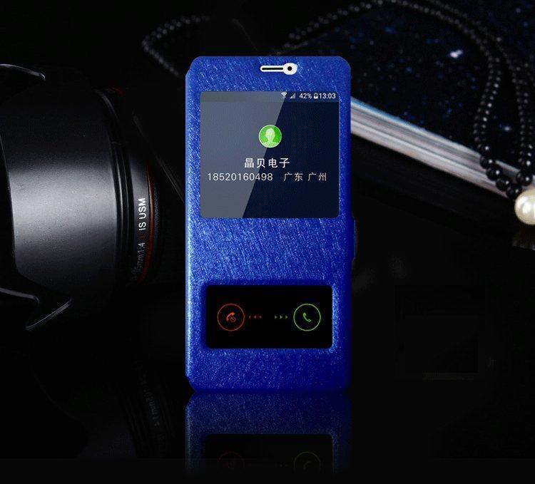 Чехол-книжка Holey для Meizu M2 Note blue
