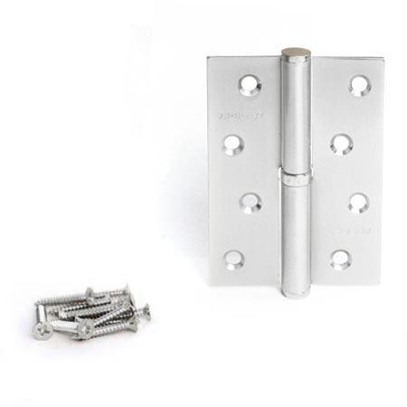 Петли дверные Apecs 100*75-B-Steel-NIS-R