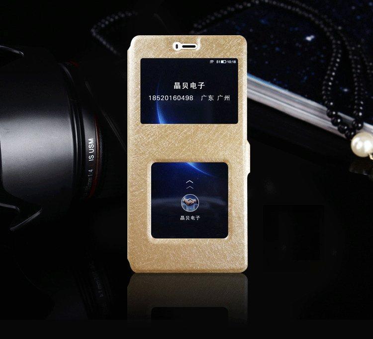 Чехол-книжка Holey для Xiaomi Redmi 4X gold