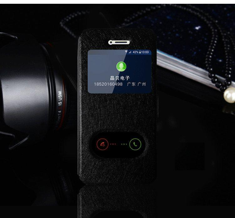 Чехол-книжка Holey для iPhone 5/5S/5SE black