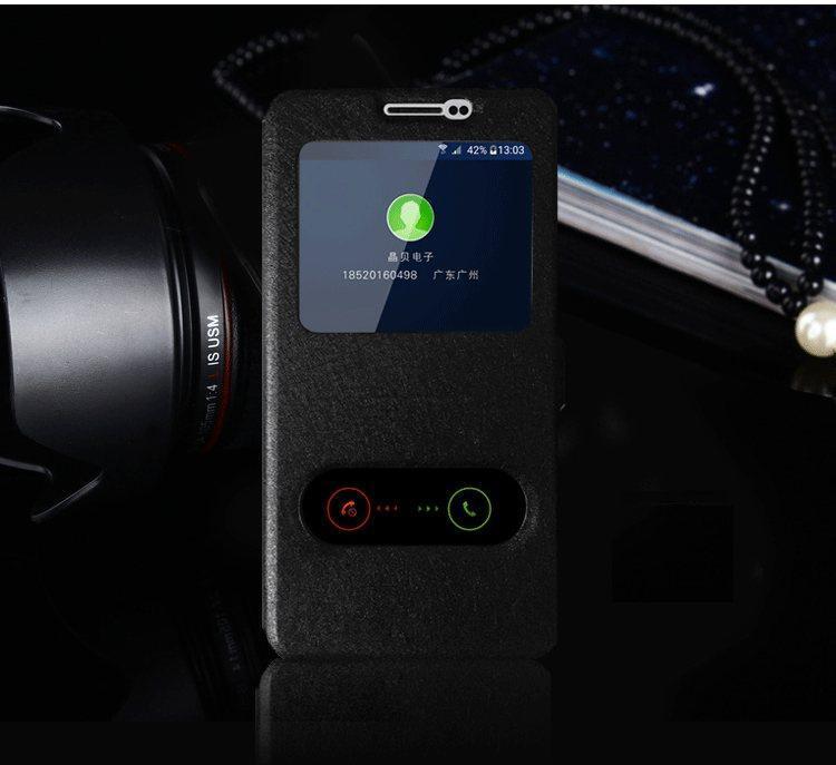Чехол-книжка Holey для Samsung Galaxy A3 2016/A310 black