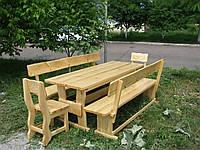 Деревянная мебель для беседок и мангалов в Одессе