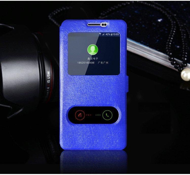 Чехол-книжка Holey для Samsung Galaxy J7 2016/J710 blue