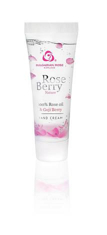 Крем для рук Болгарская Роза Rose Berry Nature 75 мл, фото 2