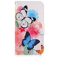 Чехол-книжка Artcase Butterflies для Samsung Galaxy J3 2017/J320 (version for USA)