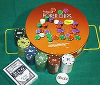 Набор для покера Chips на 120 фишек