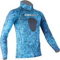 Лайкровая камуфляжная футболка для подводной охоты Cressi Sub Blue Hunter