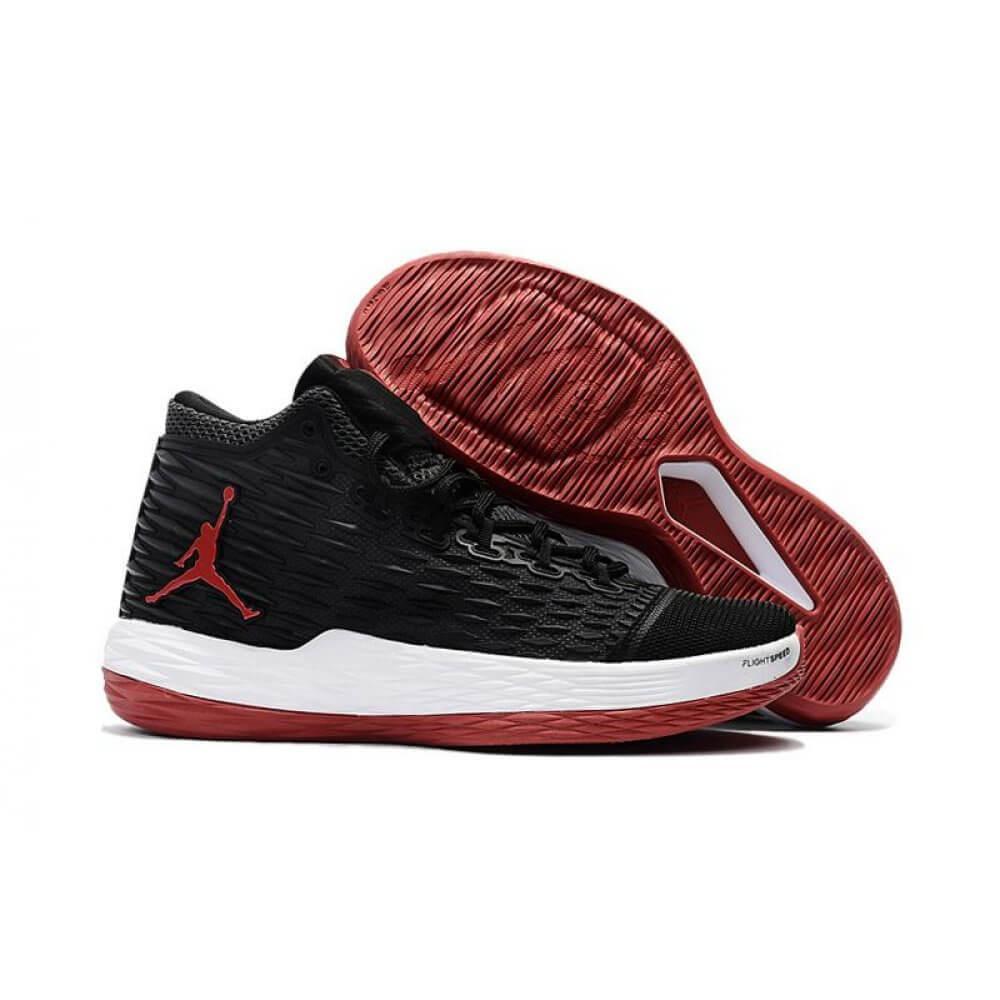 Баскетбольные кроссовки Nike Jordan Melo 13 Black Red