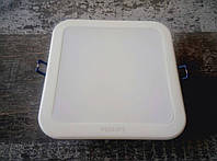 Светодиодный встраиваемый светильник (даунлайт) Philips DN027B LED9/NW L125 SQ, 11W, 4000K
