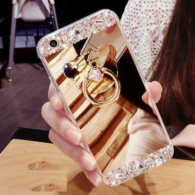 Чехол-накладка TPU Luxury Bear gold для Samsung Galaxy S6 Edge Plus/G928