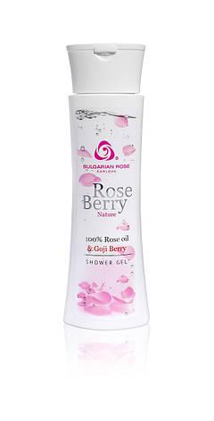 Гель для душу Болгарська Троянда Rose Berry Nature 200 мл, фото 2