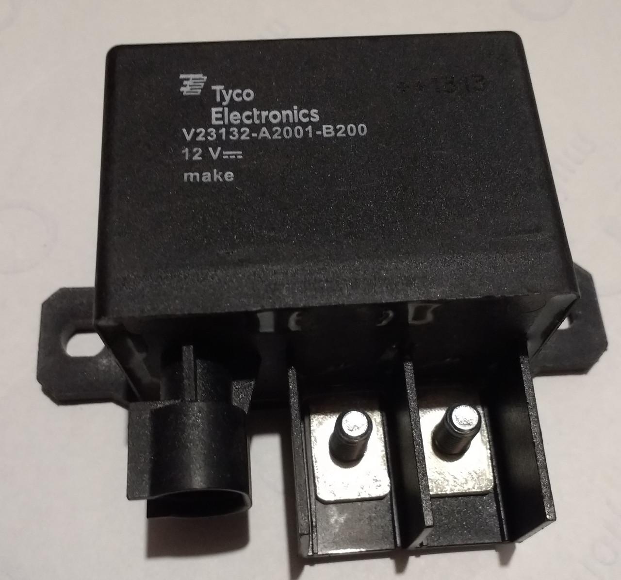Реле предпускового подогрева двигателя 12V /TE Connectivity /TYCO/ Швейцария/
