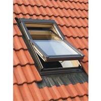 Вікно мансардне Oman EN 78x118 + оклад для металочерепиці KOF