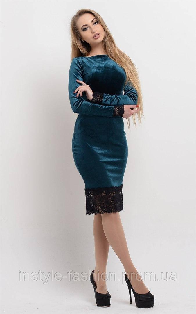 ... Красивое женское платье ткань велюр+французское кружево цвет бордовый,  фото 3 d0cbeb96ff3