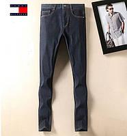 Зимние утепленные мужские джинсы Tommy Hilfiger. Отличное качество.  Доступная цена. Дешево. Код 3ddca75c40338